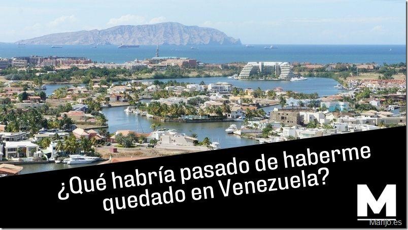 """¿Qué habría pasado de haberme quedado en Venezuela? - Es una foto del complejo turístico """"El Morro"""" de Lechería en el estado Anzoátegui en Venezuela"""