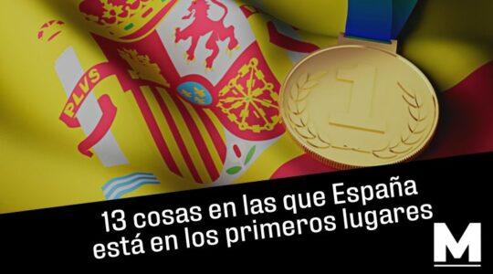 Cosas en las que España está en los primeros lugares